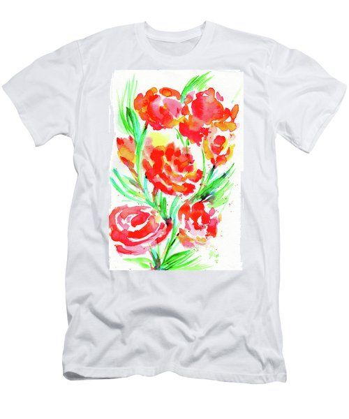 Wild Reds  Men's T-Shirt (Athletic Fit)