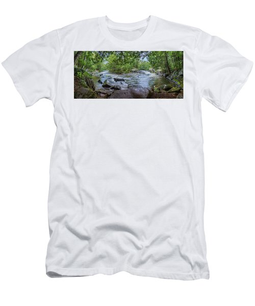 Men's T-Shirt (Athletic Fit) featuring the photograph Wilderness Waterway by Bill Pevlor