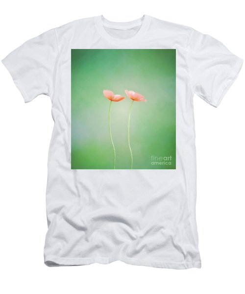 Wildflower Duet Men's T-Shirt (Athletic Fit)