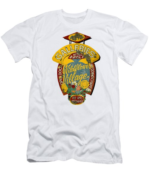 Wildflower Village Men's T-Shirt (Athletic Fit)