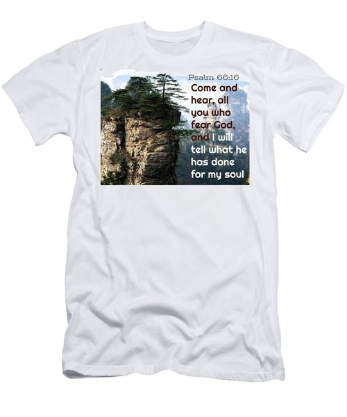 Will Do All For All Men's T-Shirt (Athletic Fit)