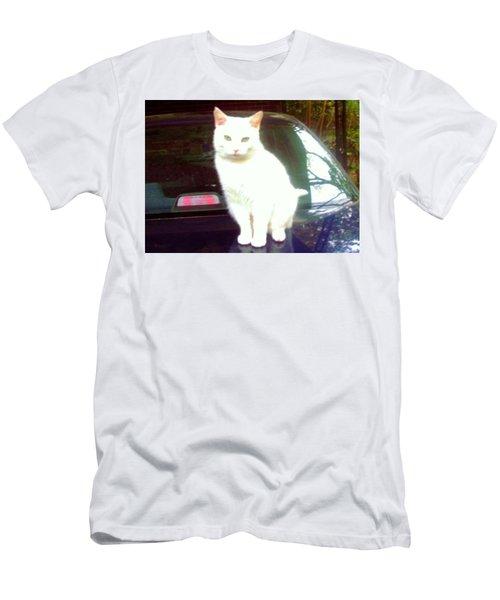 Will Wash Car For Treats Men's T-Shirt (Athletic Fit)