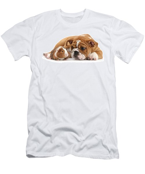 Will You Be My Friend? Men's T-Shirt (Athletic Fit)