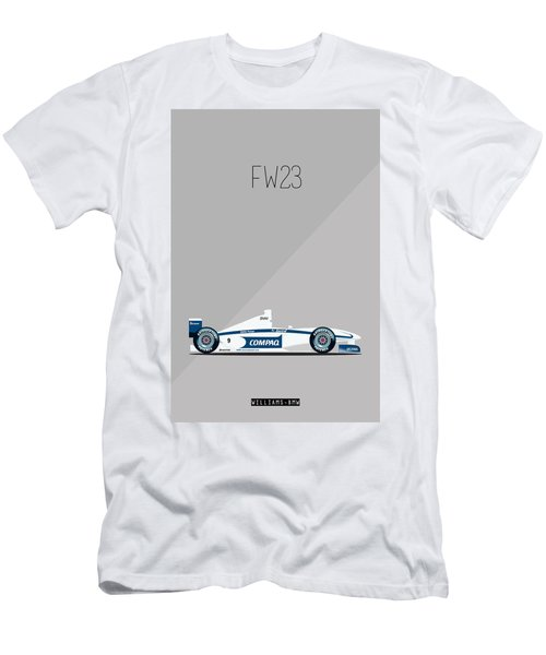 Williams Bmw Fw23 F1 Poster Men's T-Shirt (Athletic Fit)