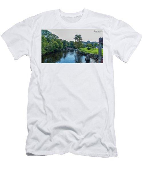 Willimantic River Men's T-Shirt (Athletic Fit)
