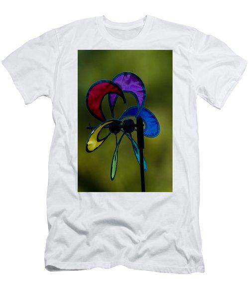 Men's T-Shirt (Slim Fit) featuring the photograph Windmill  by Ramabhadran Thirupattur