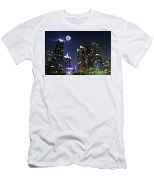 Windy City Men's T-Shirt (Slim Fit) by Frozen in Time Fine Art Photography
