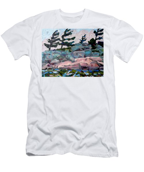 Windy Island Men's T-Shirt (Athletic Fit)