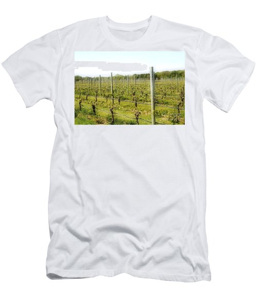 Wineries, Long Island, Ny Men's T-Shirt (Athletic Fit)