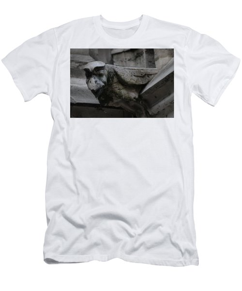 Winged Gargoyle Men's T-Shirt (Slim Fit) by Christopher Kirby