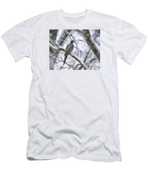 Winter Admiration Men's T-Shirt (Slim Fit) by Kerri Farley