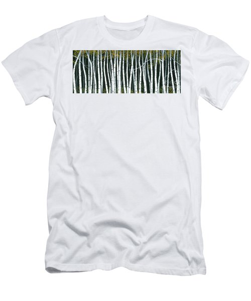 Winter Aspen 3 Men's T-Shirt (Slim Fit) by Michael Swanson