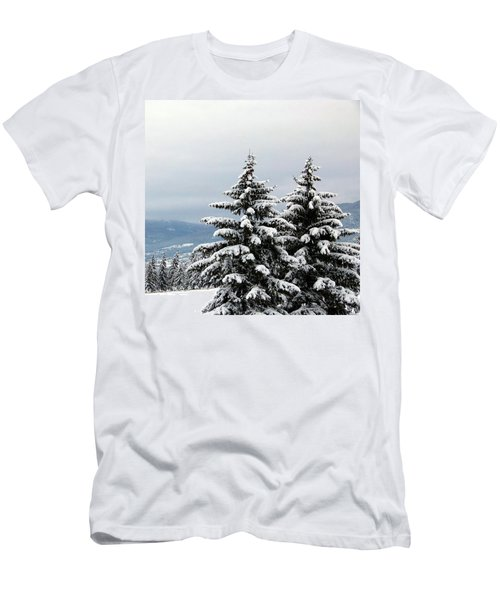 Men's T-Shirt (Slim Fit) featuring the photograph Winter Bliss by Will Borden