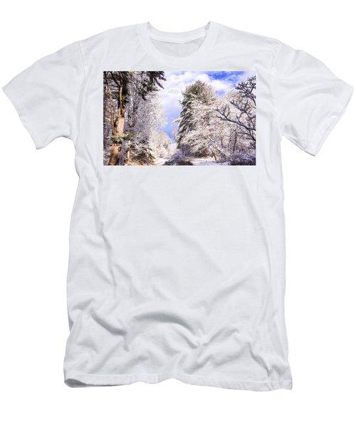Winter Drive Men's T-Shirt (Athletic Fit)