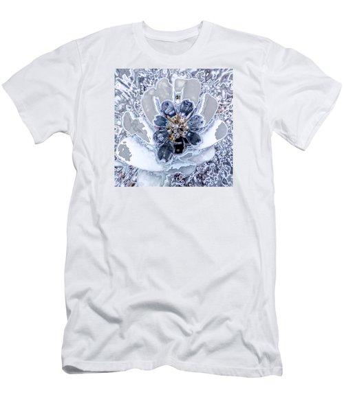 Winter Flower 2 Men's T-Shirt (Slim Fit) by Ron Bissett