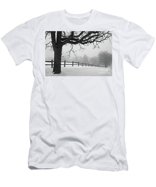 Winter Fog Men's T-Shirt (Slim Fit) by Kevin McCarthy