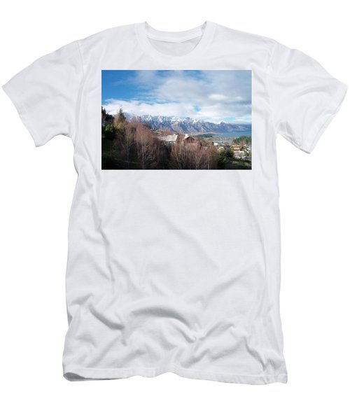 Winter In Queenstown Men's T-Shirt (Athletic Fit)