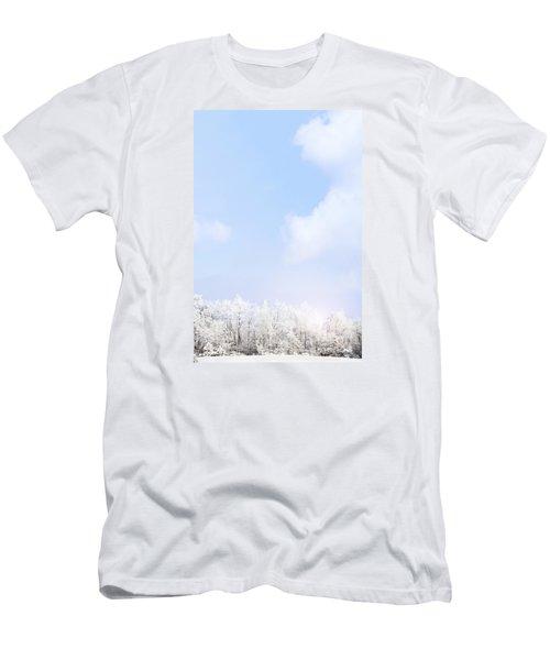 Winter Landscape Men's T-Shirt (Slim Fit) by Stephanie Frey