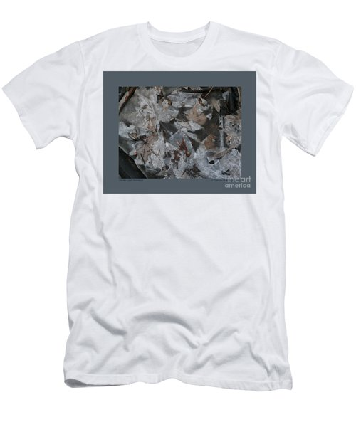 Winter Leaf Abstract-i Men's T-Shirt (Athletic Fit)