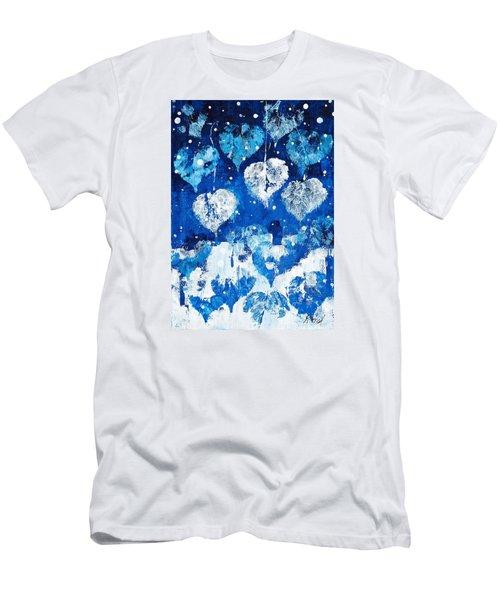 Winter Nature Men's T-Shirt (Athletic Fit)