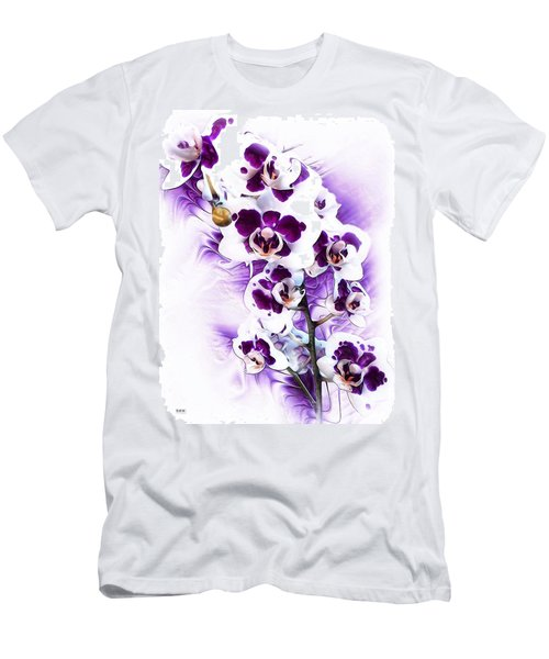 Winter Orchid Men's T-Shirt (Athletic Fit)