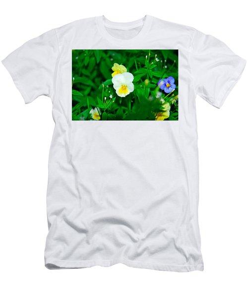 Winter Park Violets 1 Men's T-Shirt (Athletic Fit)
