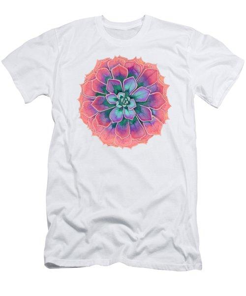 Winter Succulent Men's T-Shirt (Athletic Fit)