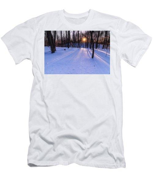 Winter Walks Continue Men's T-Shirt (Athletic Fit)