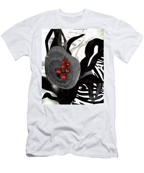 Winterberries Men's T-Shirt (Slim Fit) by Sarah Loft