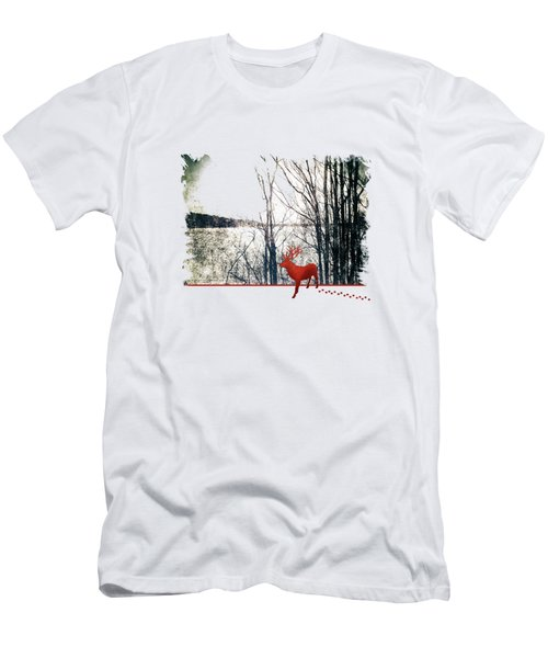Winters Afternoon Men's T-Shirt (Athletic Fit)