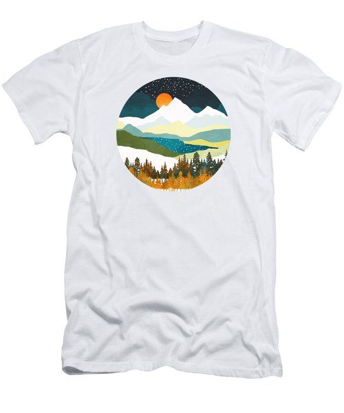 Winters Night Men's T-Shirt (Athletic Fit)