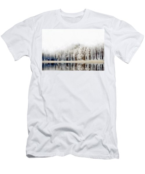 Winterscape  Men's T-Shirt (Athletic Fit)