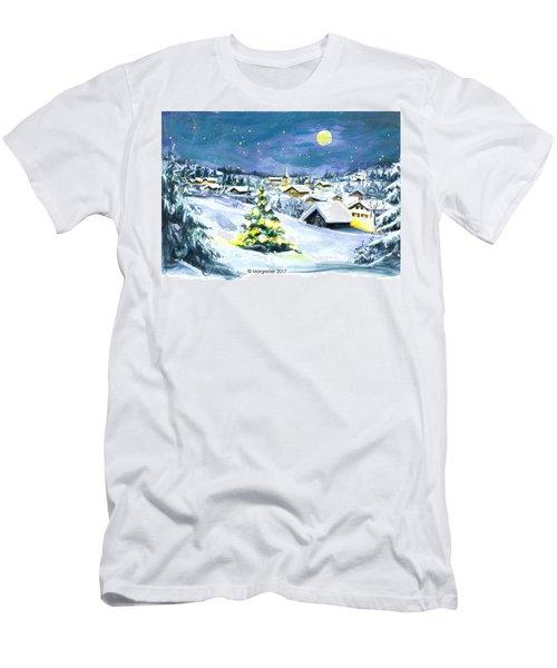 Winterwonderland Men's T-Shirt (Athletic Fit)