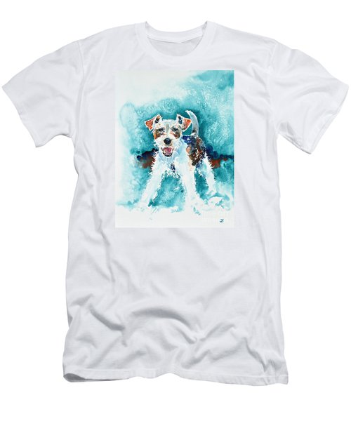 Wire Fox Terrier Men's T-Shirt (Athletic Fit)