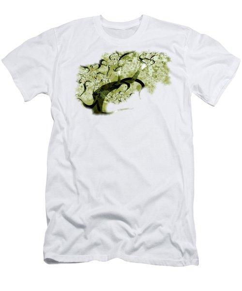 Wishing Tree Men's T-Shirt (Slim Fit) by Anastasiya Malakhova