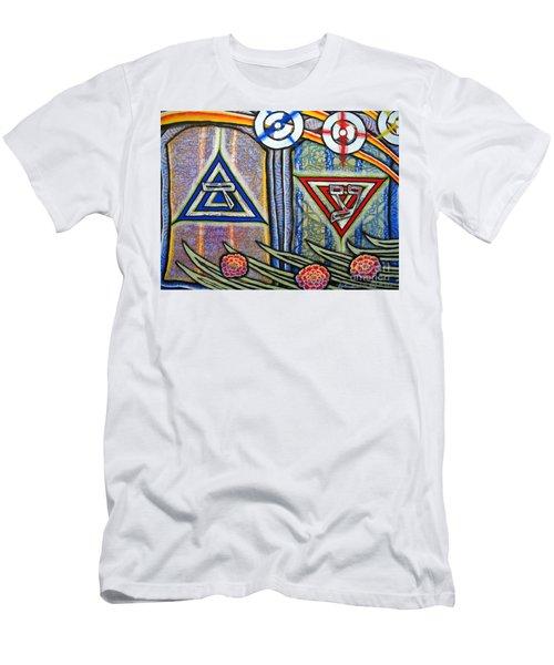Witness Men's T-Shirt (Slim Fit) by Luke Galutia