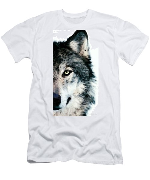 Wolf Art - Timber Men's T-Shirt (Athletic Fit)