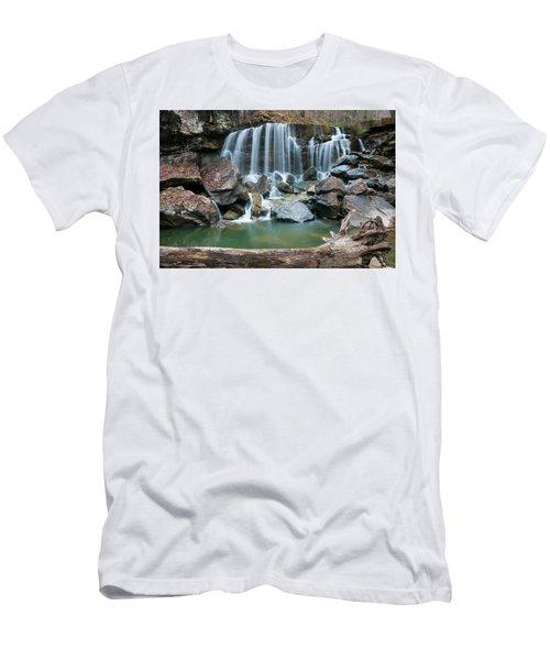 Wolf Creek Falls Men's T-Shirt (Athletic Fit)