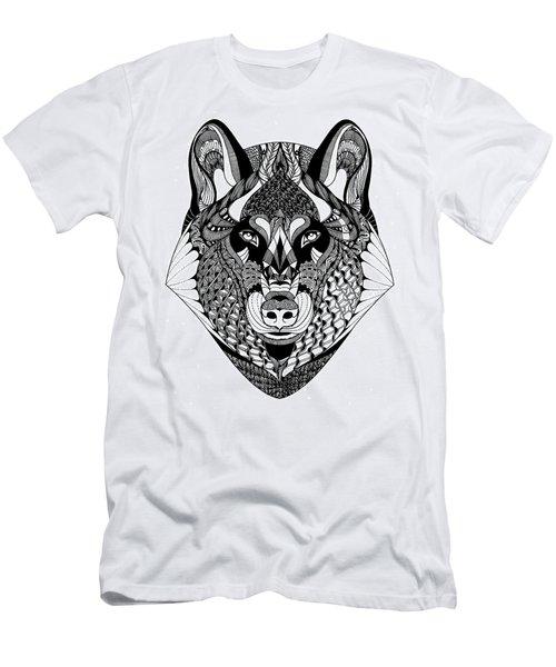 Wolf Men's T-Shirt (Slim Fit) by Jan Steinle