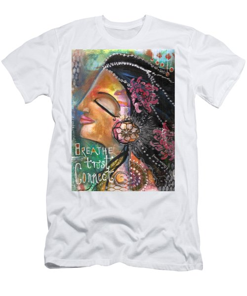 Woman Art Men's T-Shirt (Athletic Fit)