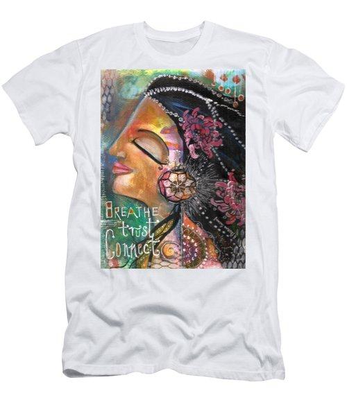 Woman Art Men's T-Shirt (Athletic Fit)