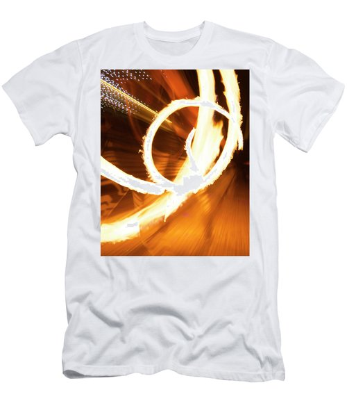 Woman On Fire Men's T-Shirt (Athletic Fit)