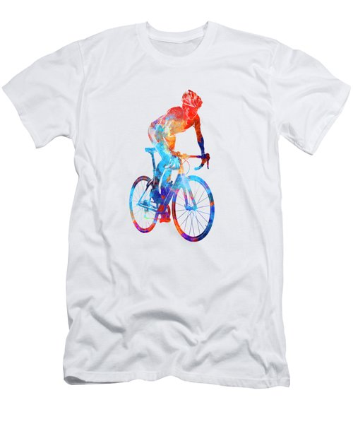 Woman Triathlon Cycling 06 Men's T-Shirt (Athletic Fit)