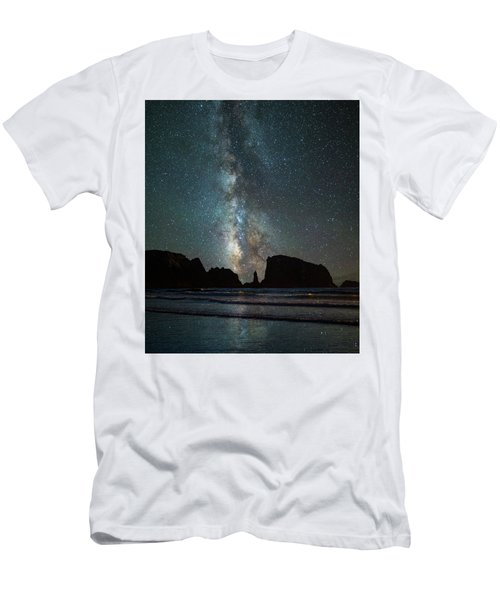Men's T-Shirt (Slim Fit) featuring the photograph Wonders Of The Night by Darren White