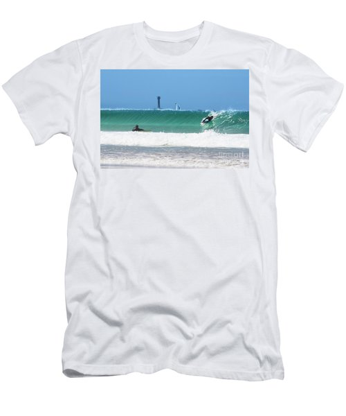 Men's T-Shirt (Slim Fit) featuring the photograph Wonderwall by Terri Waters