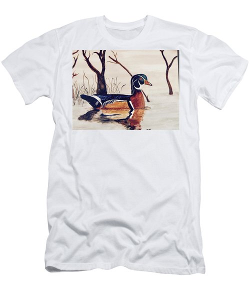 Wood Duck No. 2 Men's T-Shirt (Athletic Fit)
