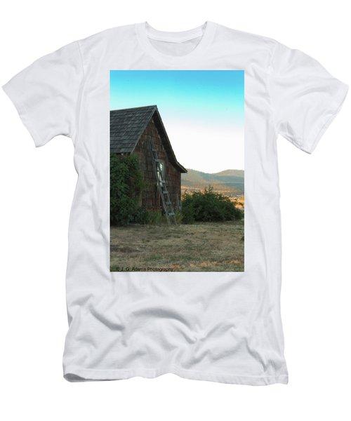 Wood House Men's T-Shirt (Athletic Fit)