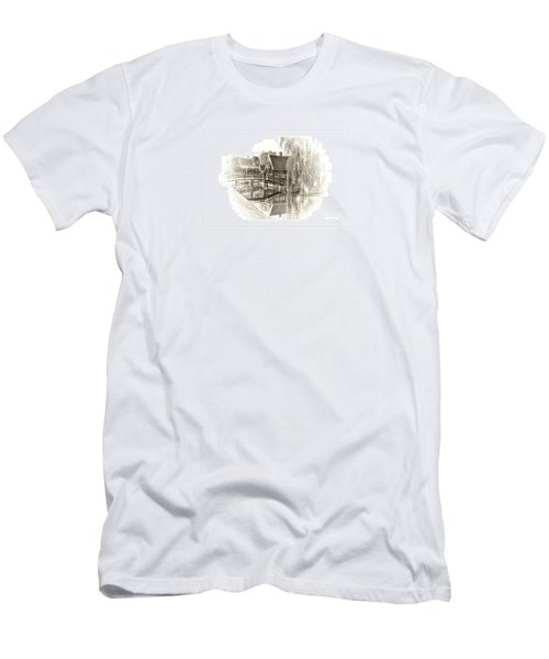 Wooden Bridge Men's T-Shirt (Athletic Fit)