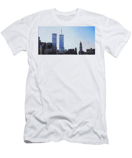 World Trade Center Once Upon A Time... Men's T-Shirt (Athletic Fit)