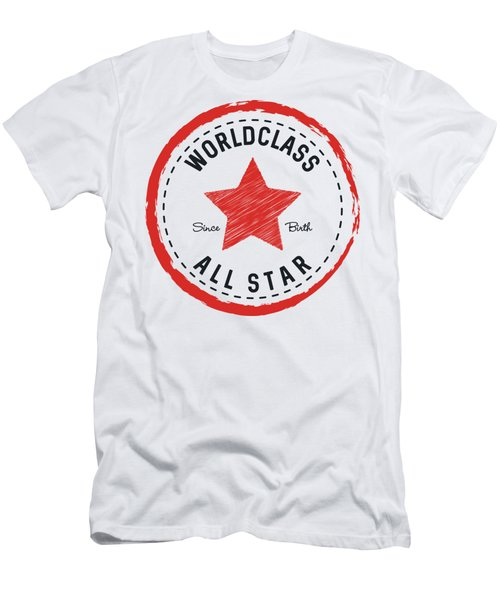 Worldclass All Star Men's T-Shirt (Athletic Fit)